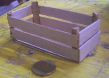 Cassetta legno